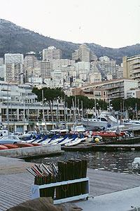 モナコ街並み