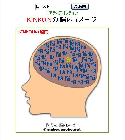 KIN脳内結果