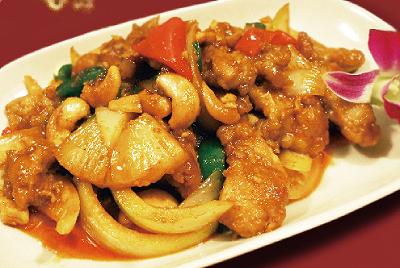 鶏とカシューナッツ炒め(ガイパットメットマムアン)