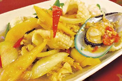 辛口海鮮(タレーパットプリック)