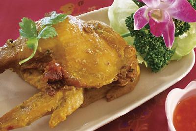 鶏肉のあぶり焼き(ガイヤーン)