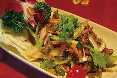 牛肉のサラダ(ヤムヌア)