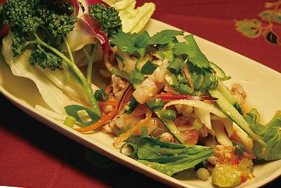 焼きナスのサラダ(ヤムマクア)