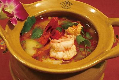 海老のすっぱ辛いスープ(トムヤムクン)