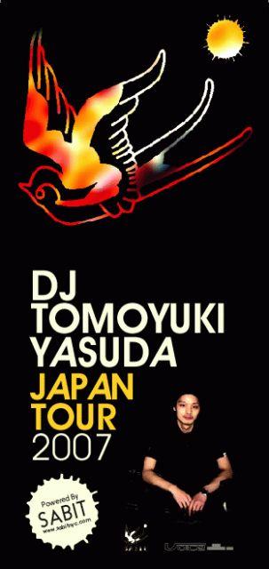 Tomoyuki yasuda Japan tour flyer
