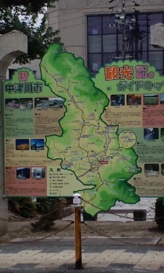中津川マップ