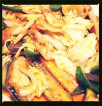 ホイコーロー風肉野菜炒め