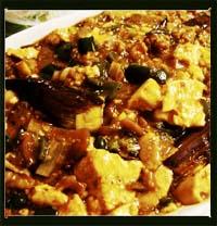本格中華四川風麻婆茄子豆腐画像