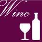 ワインのつまみアイコン赤紫