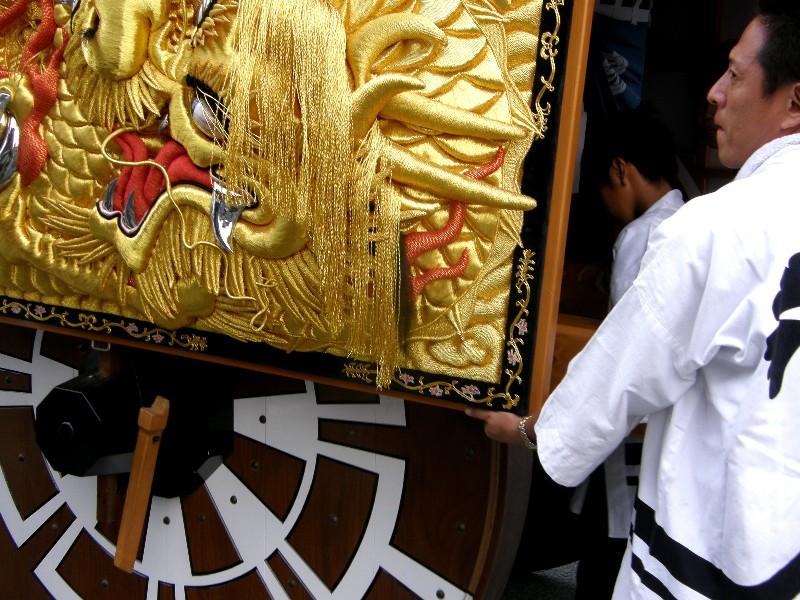 西条祭り下喜多川神輿
