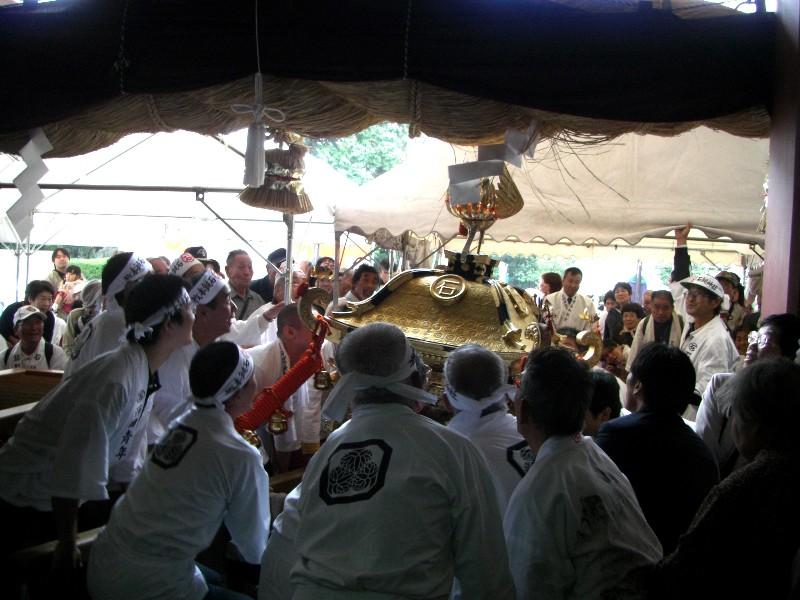 西条市 石鎚神社秋季大祭り