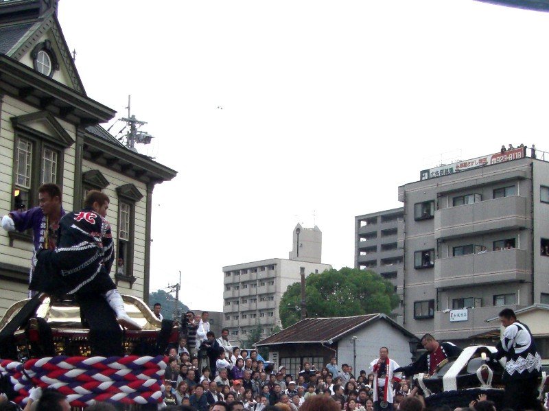 松山祭り 道後温泉駅前