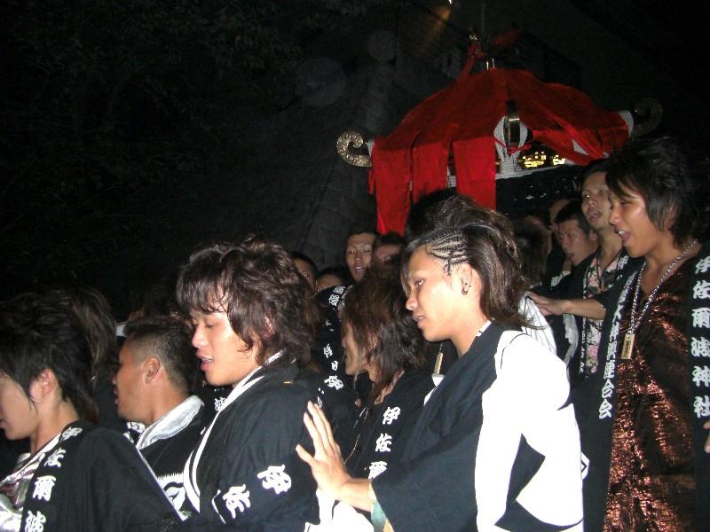 松山祭り 伊佐爾波神社 宮出し