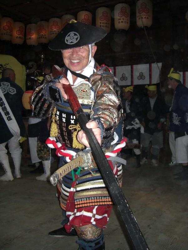 松山祭り 厳島神社 虎舞奉納