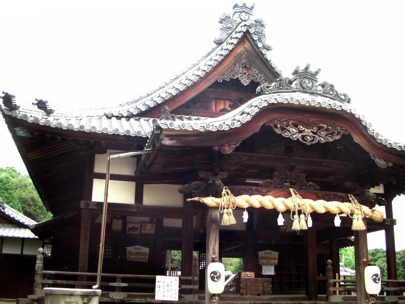 松山市 勝岡八幡神社
