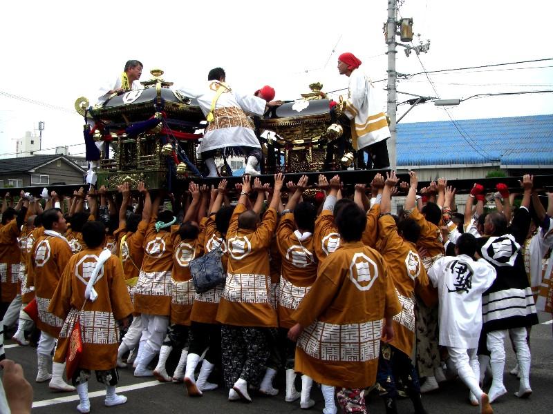松山市吉藤 潮見地区 祭り