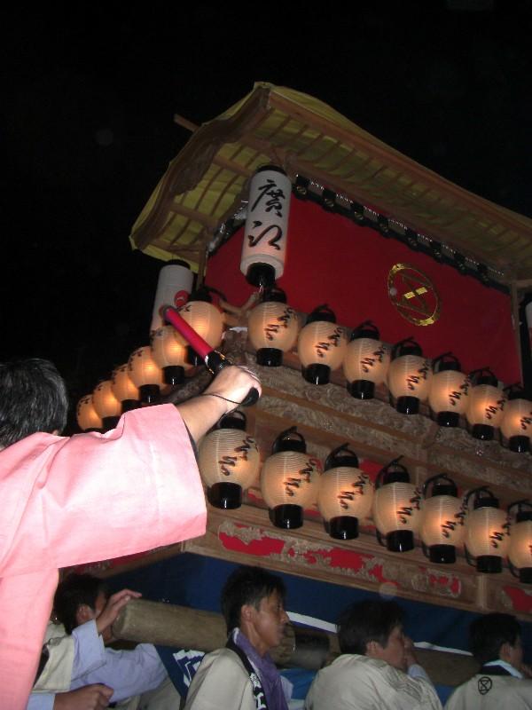 西条市秋祭り だんじり 廣江
