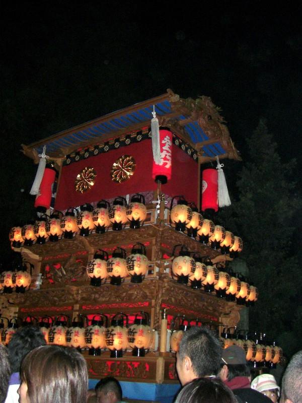 西条祭り 福武地区 宵祭り