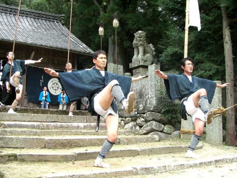磐根神社 秋祭り