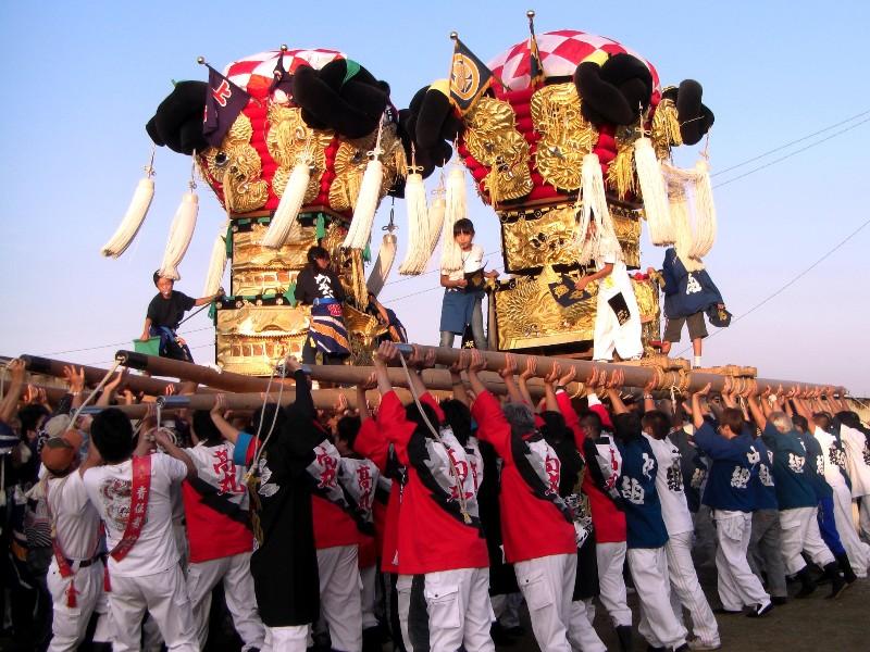西条祭り 嘉母神社