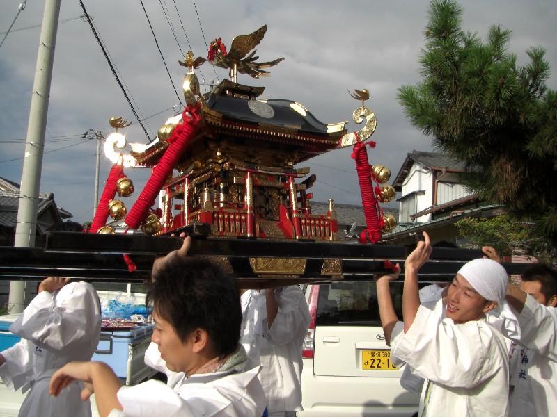 西条秋まつり 嘉母神社