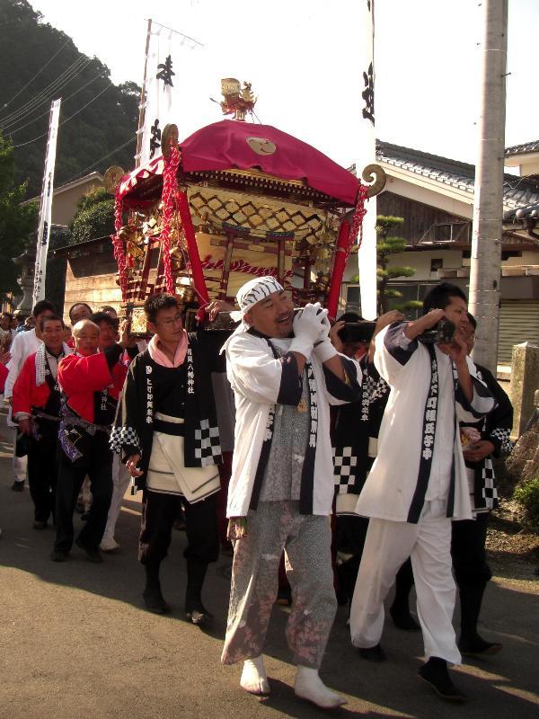 丹原秋祭り 福岡神社