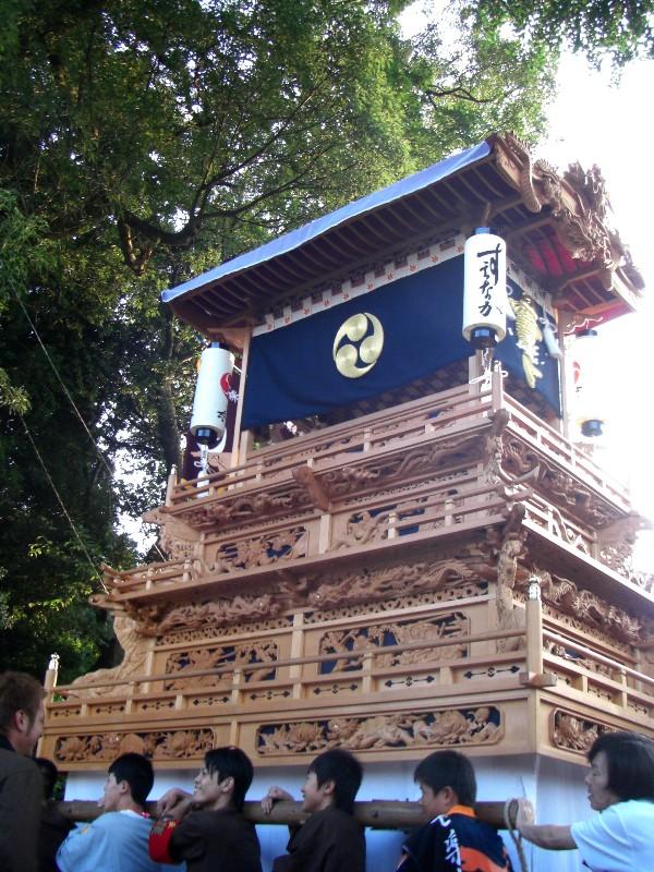西条祭り氷見地区 高尾神社