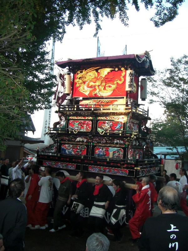 西条祭り 氷見地区 高尾神社
