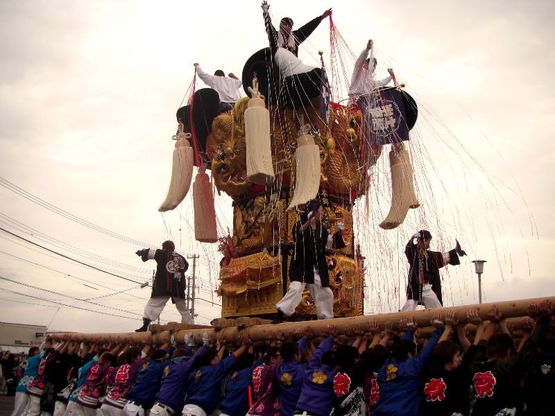 土居町秋祭り JAうま