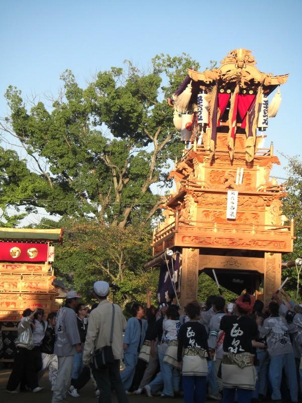 石岡神社祭礼