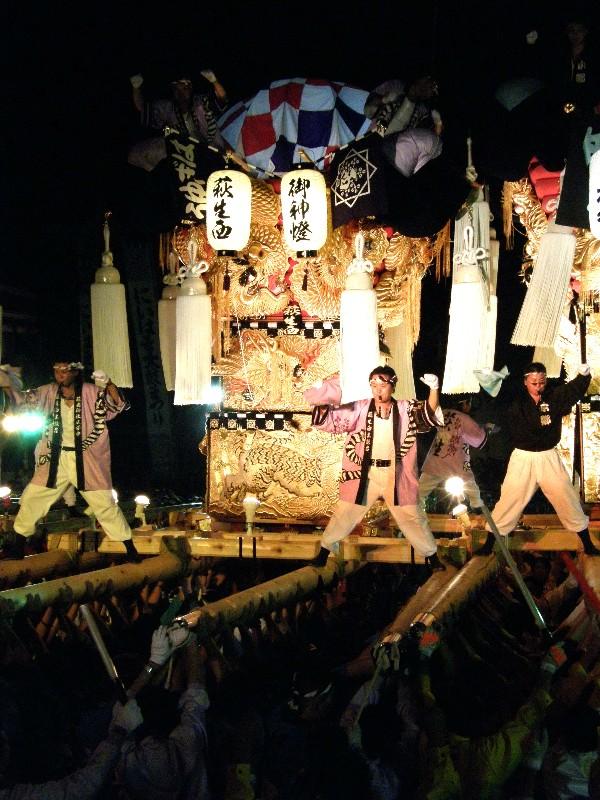 新居浜太鼓祭り 上部地区 M2夜太鼓