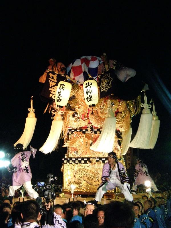 新居浜祭り 大生院 mac夜太鼓