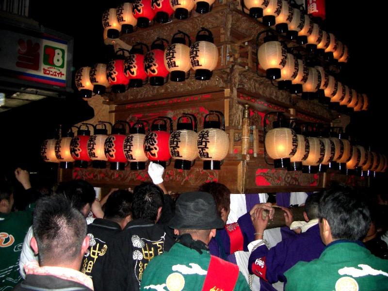 西条祭り 伊曽乃神社祭礼 お旅所