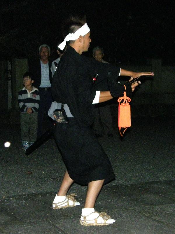 綾延神社 宵祭り