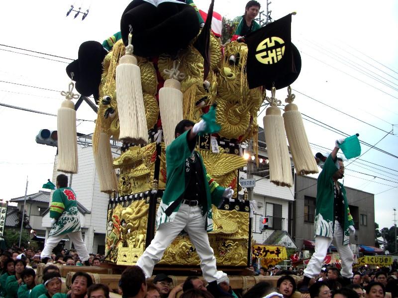 新居浜祭り 多喜浜駅前 合同かきくらべ