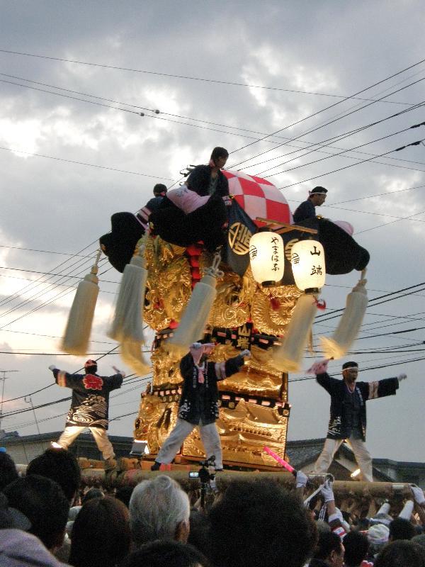 新居浜太鼓祭り 多喜浜駅前 山端太鼓台 川東西部地区