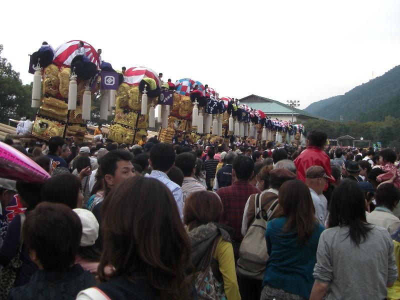 新居浜太鼓祭り 山根グウランド かきくらべ