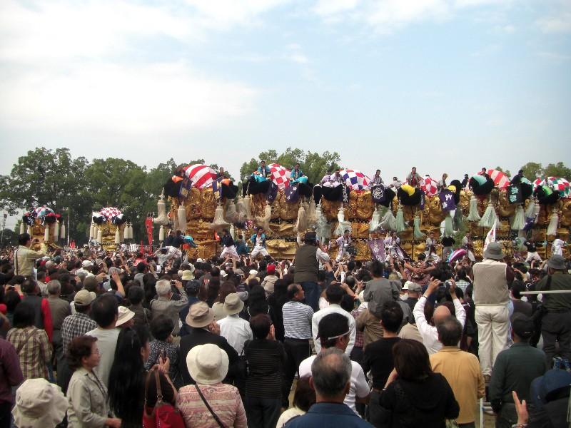 新居浜太鼓祭り 山根グランド かきくらべ