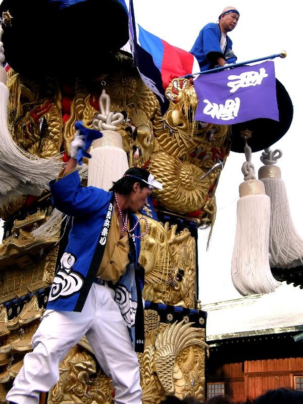 新居浜太鼓祭り 八旛神社 かきくらべ