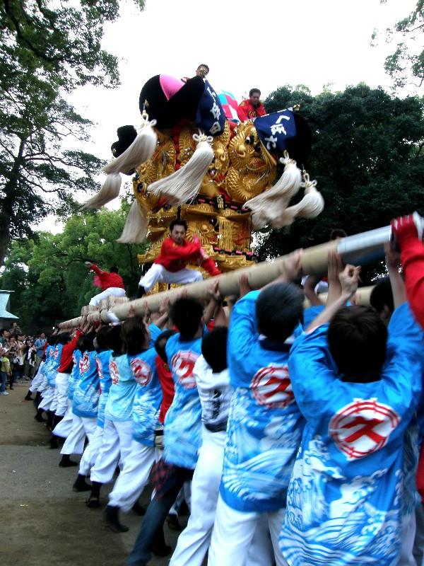 新居浜太鼓祭り 一宮神社