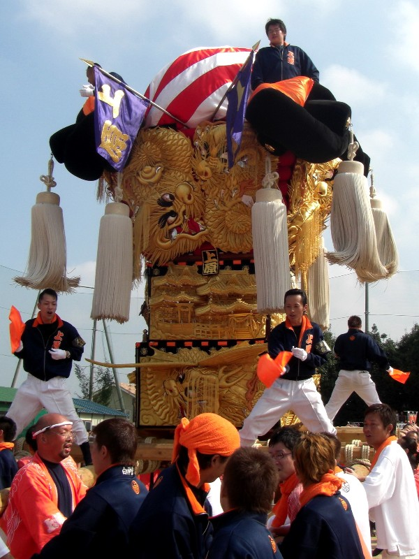 新居浜太鼓祭り 中萩地区 統一寄せ