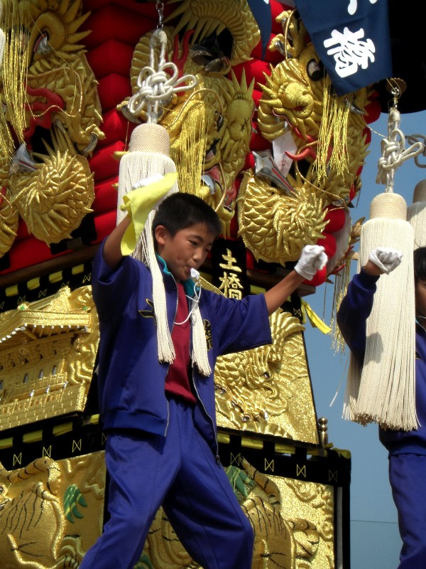 新居浜太鼓祭り 中萩小学校 子供太鼓