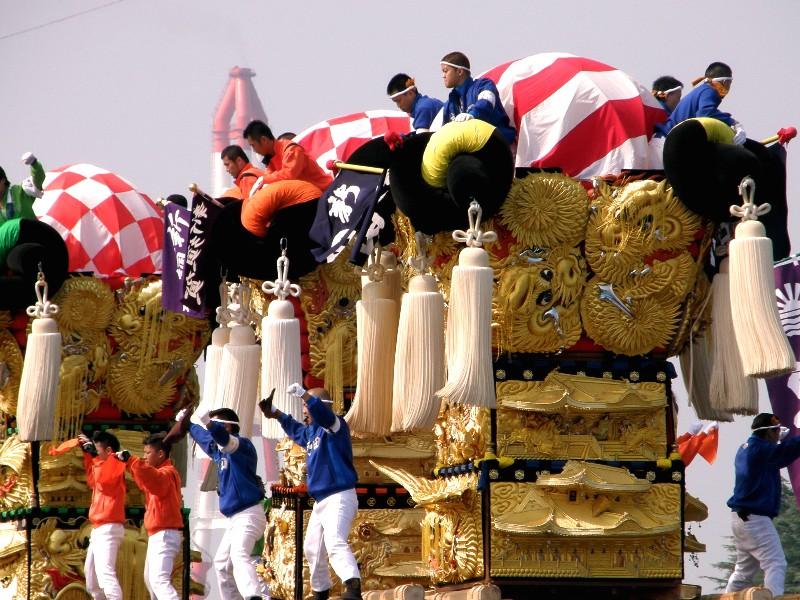 新居浜太鼓祭り 川西地区 船御幸