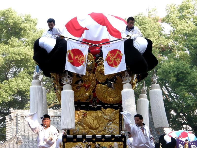 新居浜太鼓祭り 一宮神社 宮入