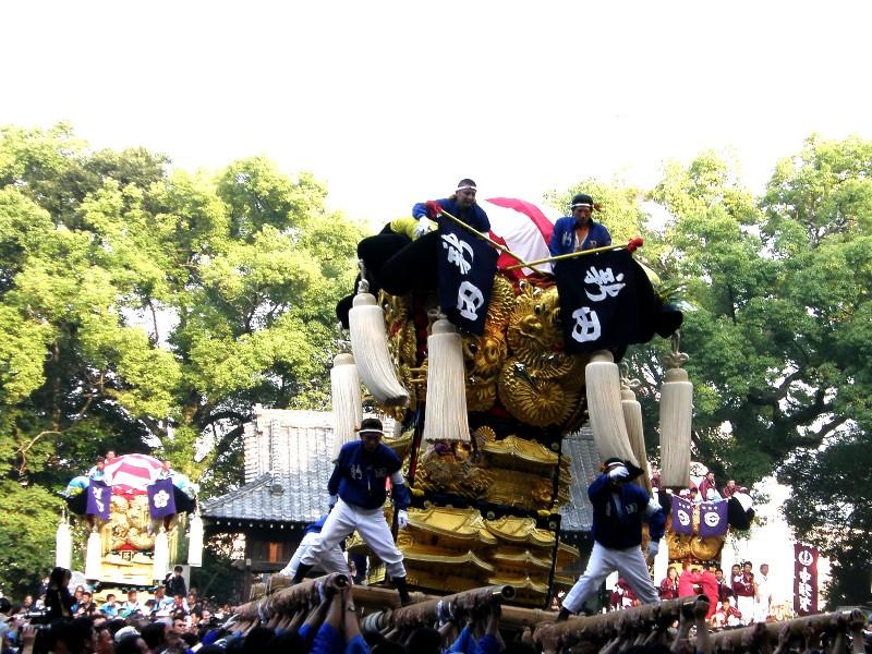 新居浜秋祭り 一宮神社 宮入