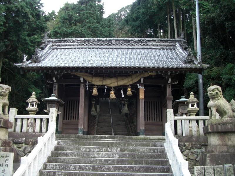 西条市丹原「福岡八幡神社」