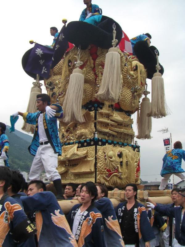 新居浜太鼓祭り 2008年 山根公園 入場前