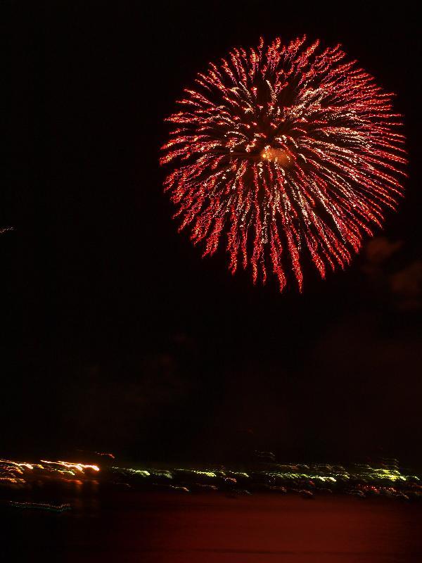 松山市 三津浜花火大会 2009年8月23日
