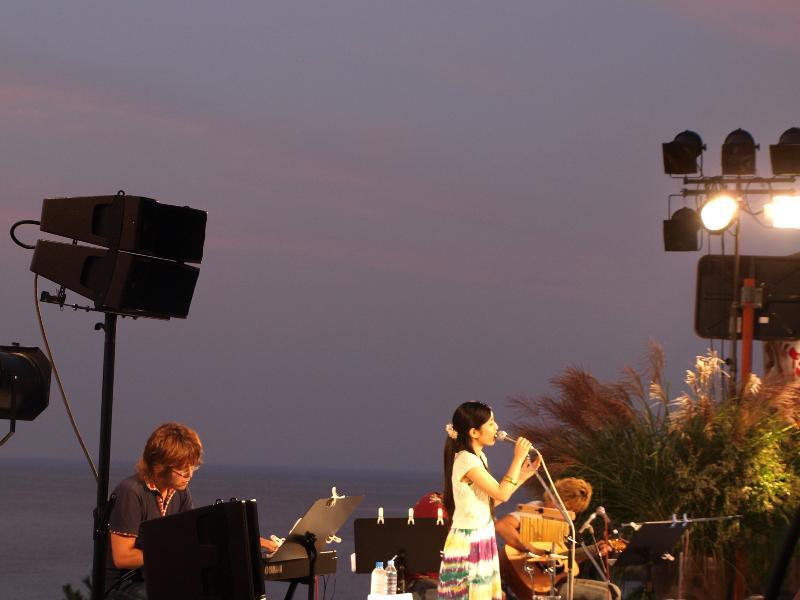 下灘駅 夕焼けプラットホームコンサート
