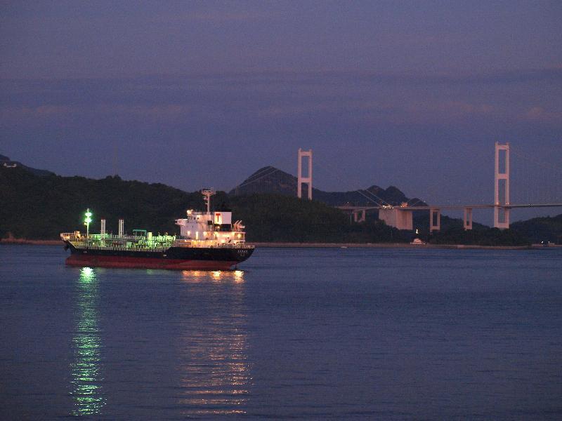 今治市 波方町 海の夜景